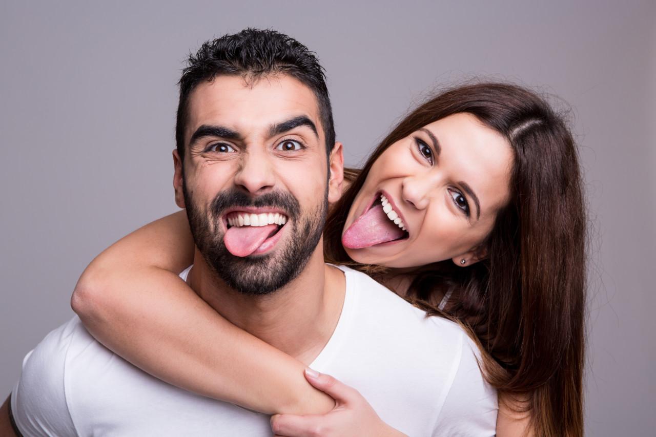 Поздравлением, картинки прикольные с мужчиной и женщиной