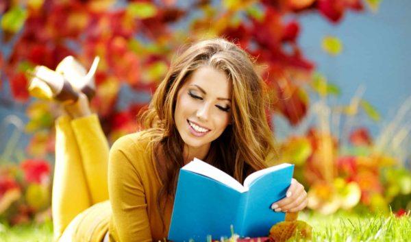Обои девушка, осень, книга, раздел Песочница, размер 1920x1200 HD ...