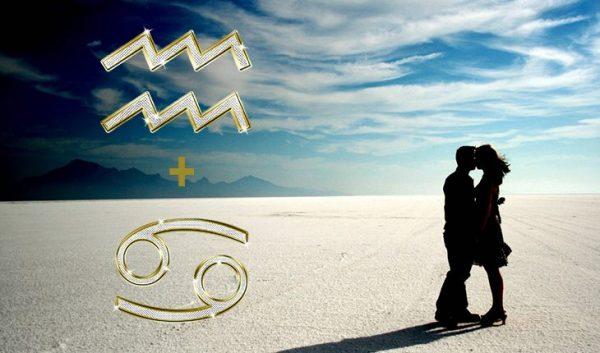 Женщина Рак Мужчина Водолей – совместимость знаков Зодиака в любви ...