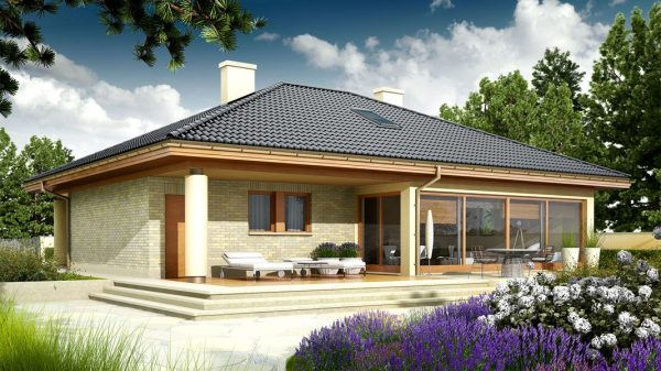 План одноэтажного дома: варианты готовых проектов с фото-примерами
